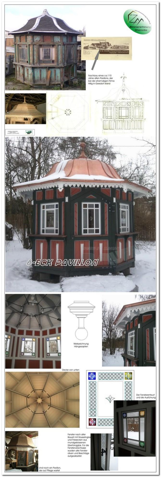 Pavillon nachbau